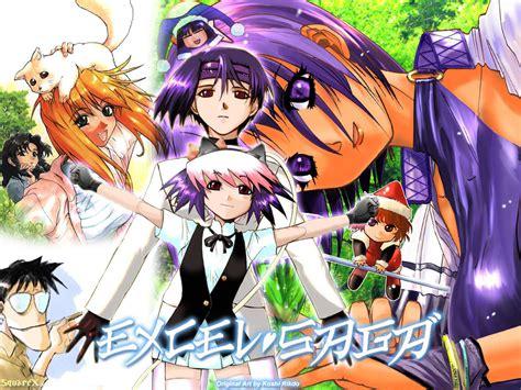 excel saga excel saga free anime wallpaper site