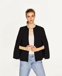 Zara Crepe Ver 2 cape jacket it s dress up time zara united states