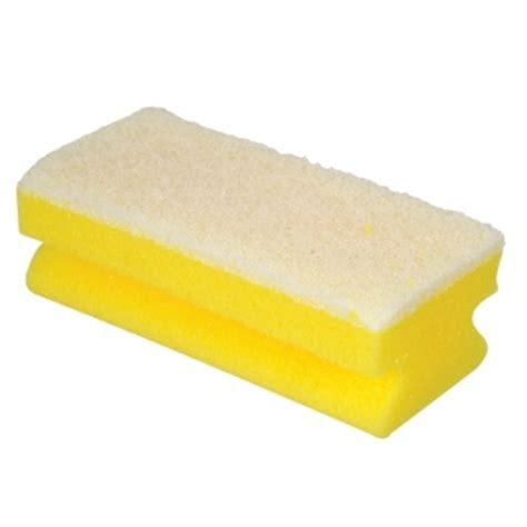 non scratch sponge scourers 10pk finger grip non scratch sponge scourer brosch direct