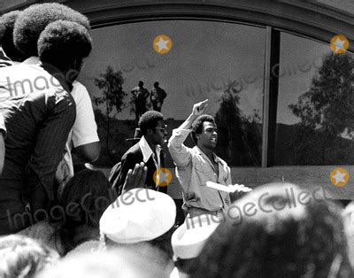 pictures huey p newton talks  crowd