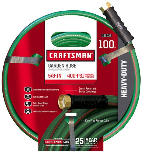 Craftsman Garden Hose by Craftsman Cm Ifhd 3 Heavy Duty 5 8 Quot X 100 Garden Hose