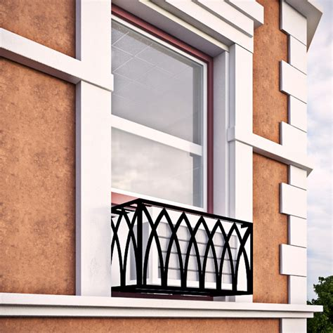 Decorative Security Window Bars by Arch Iron Air Conditioning Cover Window Guard Balcony
