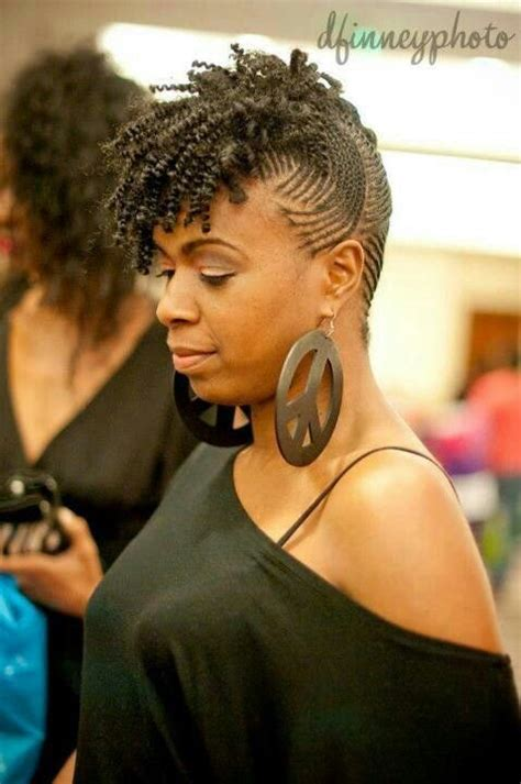 hairstyles that look flatter on sides of micro flat twist side swept hawk hairstyles to try