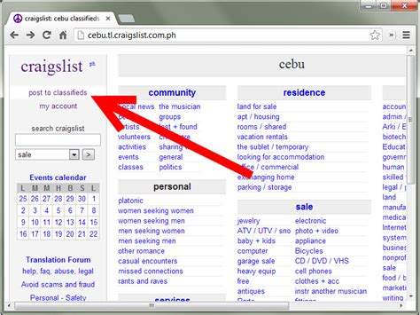craigslist com how to set up a craigslist account 9 steps with pictures