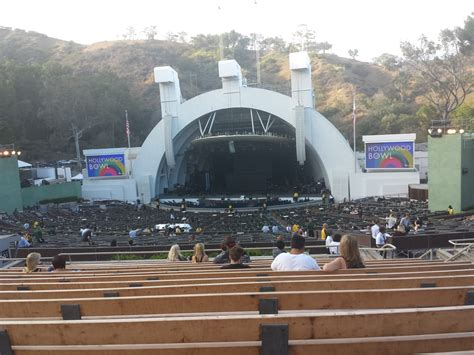 hollywood bowl section g2 view from section g2 row 15 yelp
