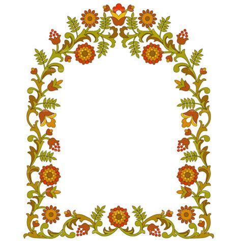 frame design flower flower frame clipart best