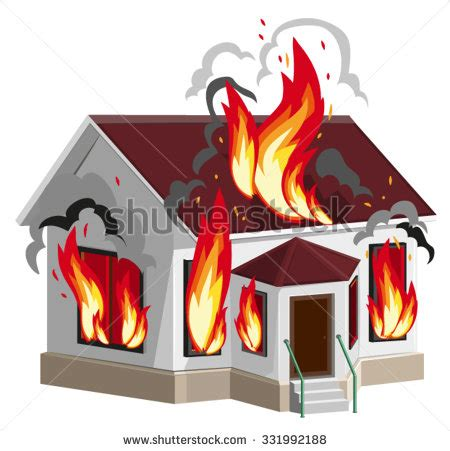house insurance fire burning house stock vectors vector clip art shutterstock