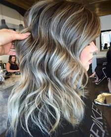 pictures of grey hairstyles with pink highlights 40 ideas of gray and silver highlights on brown hair