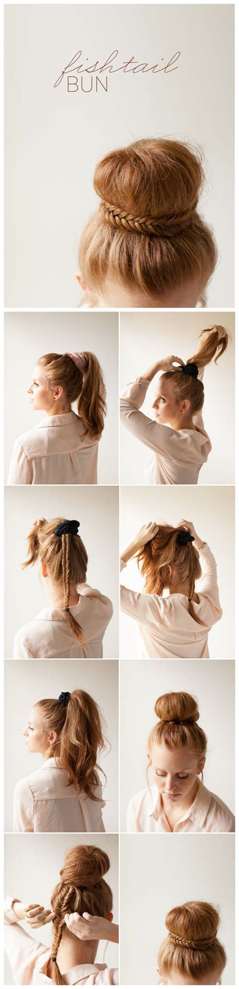 cute diy hairstyles easy 25 cute diy bun hairstyles