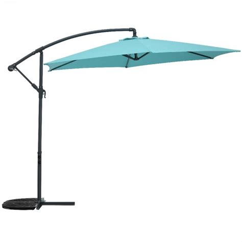 Parasol Deporte Inclinable by Parasol D 233 Port 233 Marbella Inclinable Bleu Lagon Parasol