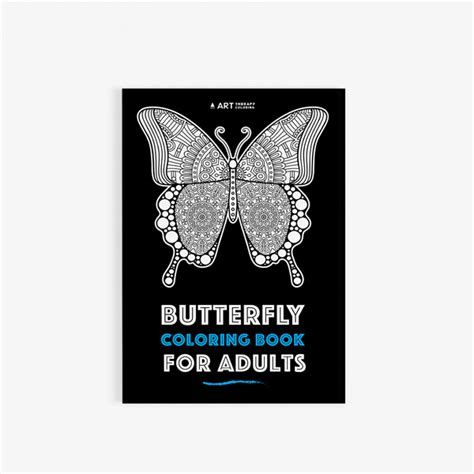 butterfly colors books butterfly coloring book for adults therapy coloring