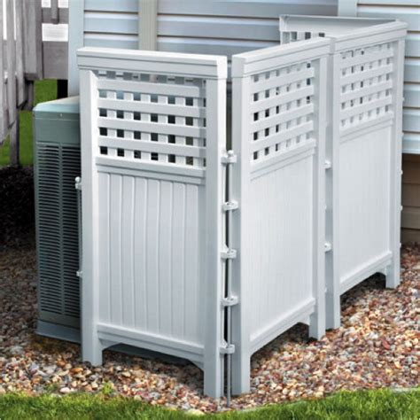 decorative ways to hide your outdoor air conditioning unit coastal cooling inc