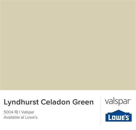 lyndhurst celadon green from valspar for the home