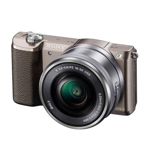 Kamera Sony Cx 5100 jual sony alpha 5100 kit 16 50mm brown kamera mirrorless