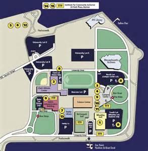 Umass Boston Campus Map by Umass Boston Resource Map Non Flash