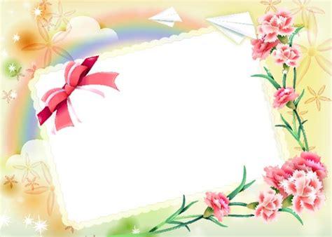 photoshop spring frames templates
