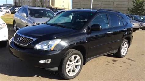 pre owned lexus rx 350 pre owned black 2009 lexus rx 350 4dr review calgary