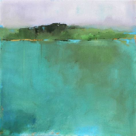 abstract landscape painting large contemporary acrylic by