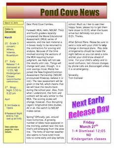 free school newsletter templates fall school newsletter templates free