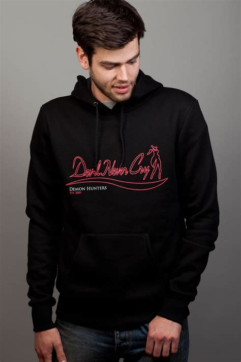 Hoodie Devils Chinays Fashion never cry insert coin clothing