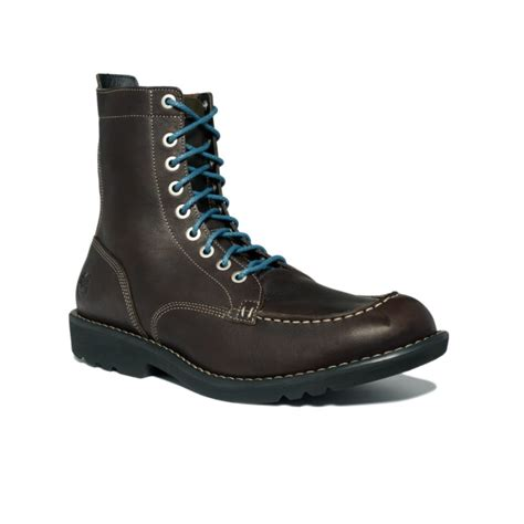 city boots timberland earthkeepers city escape moc toe boots in brown