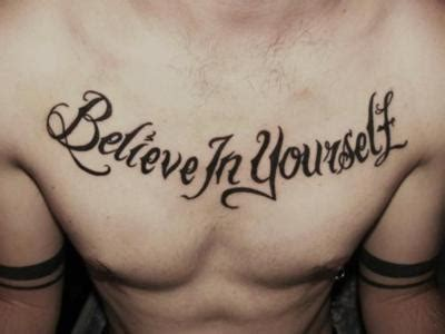 tattoo inspiration chest believe chest inspiration tattoo yourself image