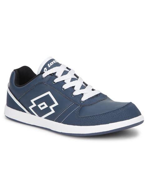 lotto logo plus iii navy lifestyle casual shoes buy