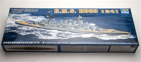 trumpeter scale model 1 700 scale ship 05740 h m s 1941 battleship assembly model kits