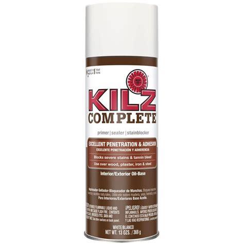 kilz odorless 13 oz white based interior primer sealer and stain blocker aerosol 10444