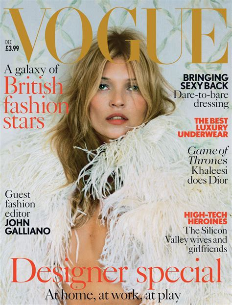 Cbell Kate Moss On The Cover Of Vogue February 2008 by Kate Moss Is The Of Cool On 37th Vogue Uk Cover
