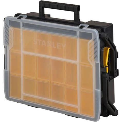 Stanley 42 643 Level Box 18 With 3 Vials Usa stanley sortmaster multi level organiser tool box stst1 75540
