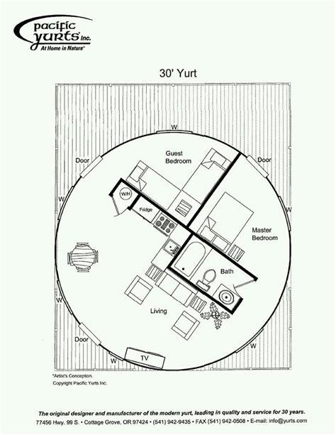 pacific yurts floor plans 16 best yurt plans images on pinterest