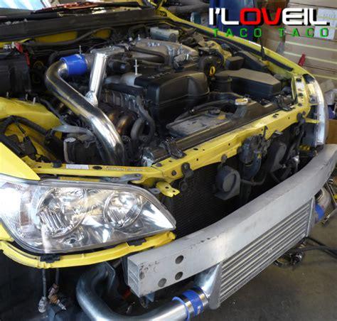 Turbo Kit For Lexus Is300 by 01 05 Lexus Is300 3 0l Front Mount Turbo Intercooler