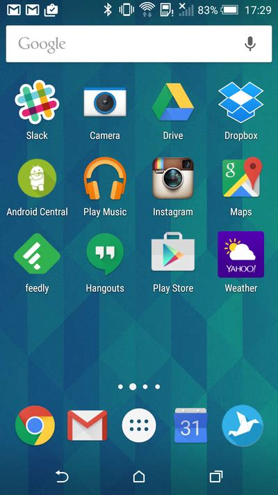 android home a look at the android central editors homescreens android central