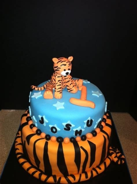 Tiger  Ee  Birthday Ee   Cake For The Kid S Pinterest