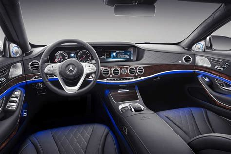 mercedes maybach interior 2018 2019 mercedes maybach s class unveiled autobics