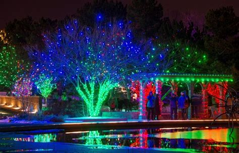 Christmas In July Try January Denver Botanic Gardens Denver Botanic Garden Lights