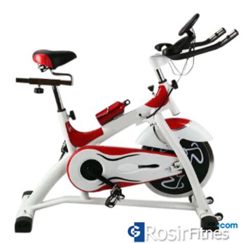 Alat Olahraga Fitness Sepeda Statis Spinning Bike Hanata Diet Langsing spinning bike alat olahraga bersepeda yang cocok dan nyaman murah