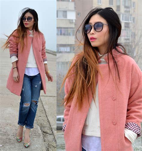 Casnadra Dress Burberry Pink Quailhijab y liu wholesaleitonline dusky pink coat