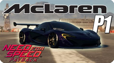 Customized Mclaren P1 by 1100hp Mclaren P1 Fully Customized Lv399 Need For Speed