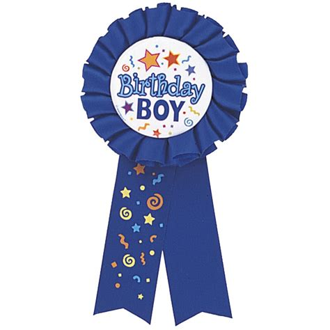 Birthday Boy birthday boy award ribbon from all you need to uk