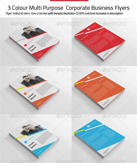 Busis Clean Multipurpose Business Corporate clean up flyers 187 dondrup
