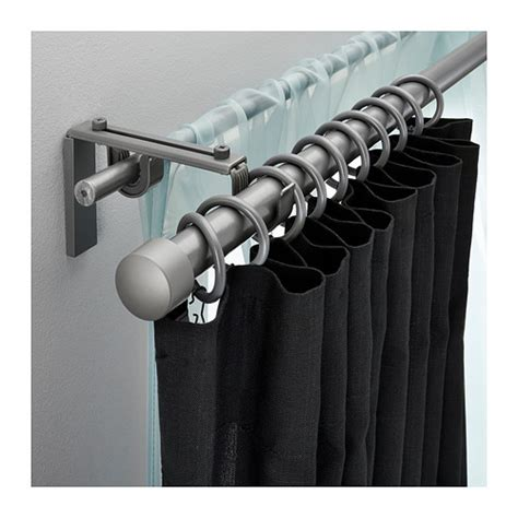 how to make a double curtain rod 1000 images about curtains on pinterest ikea double