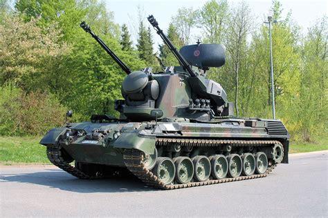 Anti Air flakpanzer gepard