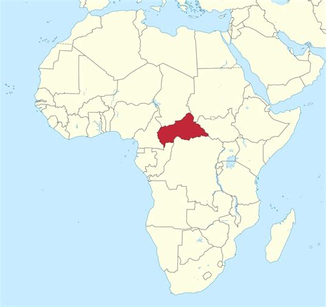 Opinions on Central African Republic?United States relations