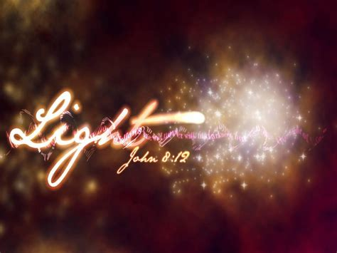 jesus lights quot jesus light of the world quot 8 12