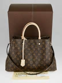 louis vuitton monogram canvas montaigne gm bag yoogis