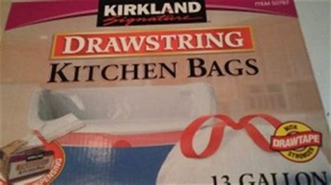 Kirkland Kitchen Bags by Review Of Kirkland Signature Kitchen Garbage Bags