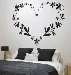 bedroom wall stickers are an easy way to change the look