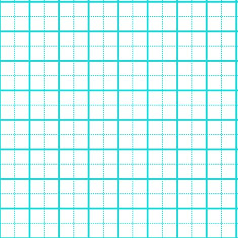 1 Inch Grid Mat by Cutting Mat Teal On White 1 Inch Grid Fabric Clothcraft
